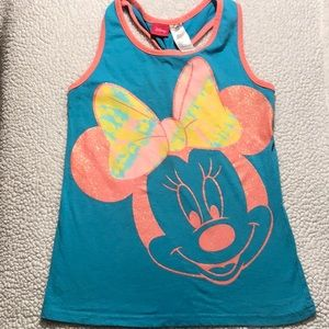 4/12$💙💚 Minnie Mouse Tank Top